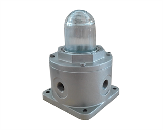 Low Intensity Aeronautical Obstruction light (LIOL), multi LED type. In compliance with ICAO Annex 14 Type A, Type B, Type E and FAA L-810. 