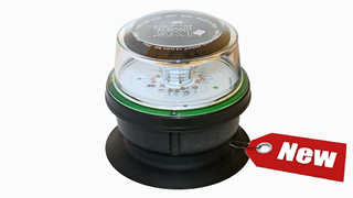 Approved ICAO Annex 14 regulations (Low Intensity – Type D), Low Intensity Obstruction Light should be used to warn the presence of airport vehicles.