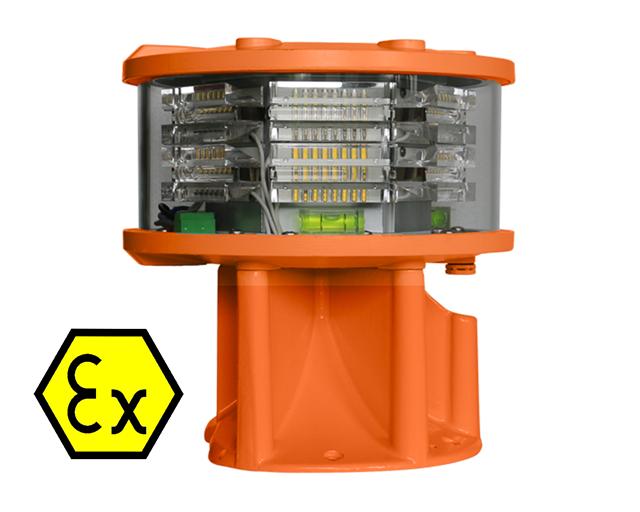 L865-LXS-200-Ex op is White Medium Intensity Light Ex