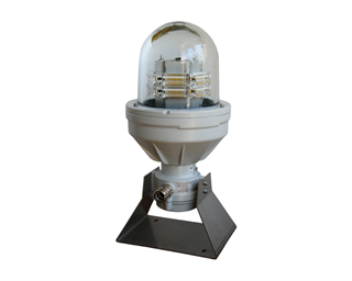 Medium Intensity Obstruction Light (MIOL), multi-LED type, compliant to ICAO Annex 14 Type A and FAA L-865.